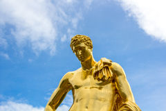 Meleager Of Belvedere. The sculpture of the Big cascade in Peterhof. Royalty Free Stock Images