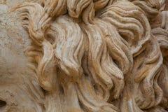 Melena rocosa del león Fotos de archivo libres de regalías