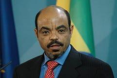 Meles Zenawi Stock Image