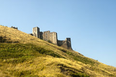 Melfi (Basilicata, Italië) - Middeleeuws kasteel stock fotografie