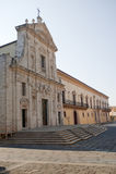 Melfi - Cathedral. Melfi (Potenza, Basilicata, Italy) - Cathedral stock photography