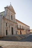 Melfi - cattedrale Fotografia Stock