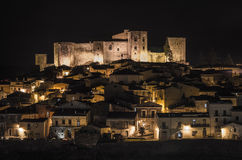 Melfi by night Royalty Free Stock Photo