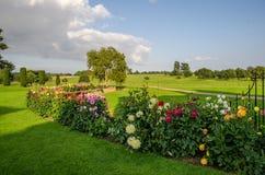 Melford Hall Garden foto de stock