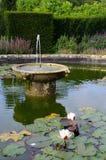 Melford Hall Pond Fotografia Stock