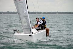 MELGES 24, Royalty Free Stock Image