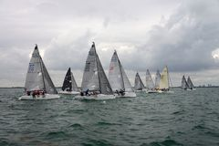 MELGES 24, Stock Image