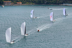 Melges 32 Sailing Series 2016 in Portovenere Royalty Free Stock Images