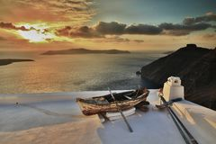 Melhor de Santorini pelo mirekphoto Fotos de Stock Royalty Free