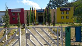A melhor escola de india Imagem de Stock