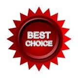 A melhor escolha Fotografia de Stock Royalty Free