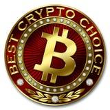 A melhor escolha cripto - BITCOIN Ilustração Stock