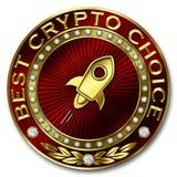 A melhor escolha cripto - ESTELAR Ilustração Royalty Free