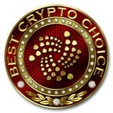 A melhor escolha cripto - IOTA Imagens de Stock