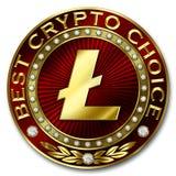 A melhor escolha cripto - LITECOIN Ilustração Stock