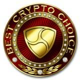 A melhor escolha cripto - NEM Ilustração Stock