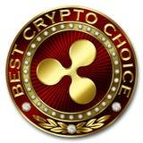 A melhor escolha cripto - ONDINHA Ilustração Stock