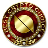 A melhor escolha cripto - ONTOLOGIA Ilustração Stock