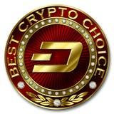 A melhor escolha cripto - TRAÇO Fotografia de Stock