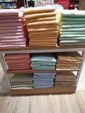 A melhor exposição de toalha imagens de stock