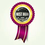 A melhor mamã Fotografia de Stock Royalty Free