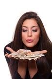 A melhor maneira de ganhar o dinheiro Foto de Stock