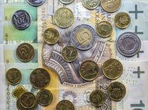 A melhor moeda polonesa Fotos de Stock Royalty Free