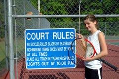 Melhor obedeça as réguas! Foto de Stock Royalty Free