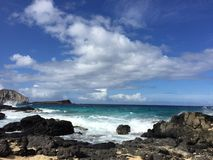 A melhor praia havaiana Fotografia de Stock