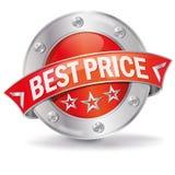 A melhor tecla do preço Imagens de Stock Royalty Free