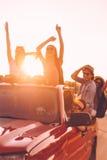A melhor viagem por estrada nunca Fotografia de Stock Royalty Free