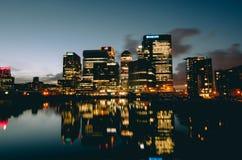 A melhor vista na cidade Imagem de Stock