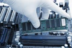 Melhoramento do computador Imagens de Stock