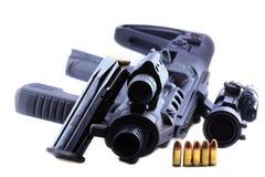 Melhoramento do revólver Fotos de Stock
