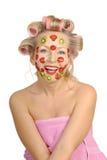 Melhorando a máscara da fruta Foto de Stock Royalty Free