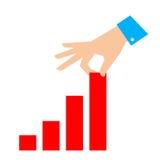 Melhore a ilustração do vetor do conceito do negócio Foto de Stock Royalty Free