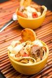 Melhore a sopa de macarronete Fotos de Stock