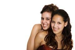 Melhores amigos para sempre Foto de Stock