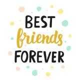 Melhores amigos para sempre Fotografia de Stock Royalty Free