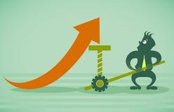 Melhoria do desempenho Imagem de Stock Royalty Free