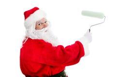 Melhoria home Santa de DIY fotos de stock royalty free