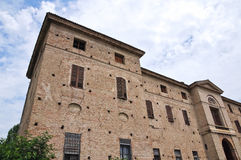 Meli Lupi forteca Soragna. emilia. Włochy. Zdjęcie Stock