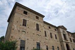 Meli Lupi forteca Soragna emilia Włochy Zdjęcia Stock