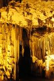 melidoni Крита подземелья Стоковые Фото