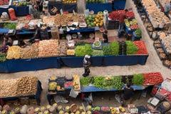 Melike Hatun Bazaar ou bazar kadinlar das mulheres do pazari Foto de Stock Royalty Free