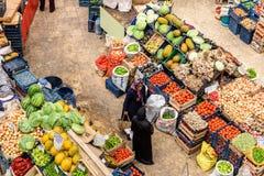 Melike Hatun Bazaar ou bazar kadinlar das mulheres do pazari Fotos de Stock