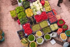 Melike Hatun Bazaar ou bazar kadinlar dos pazariWomen Foto de Stock