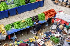 Melike Hatun Bazaar ou bazar kadinlar dos pazariWomen Imagem de Stock