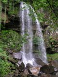 Melin Court. Waterfall, Wales Stock Photos
