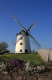 Melin Llynnon. The only working windmill on Anglesey an 18th century historic building Royalty Free Stock Photo